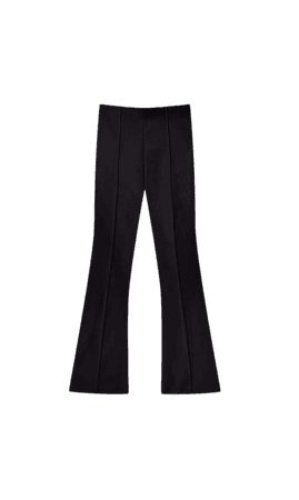 Kick flare trousers - Women's Just in | Stradivarius United States