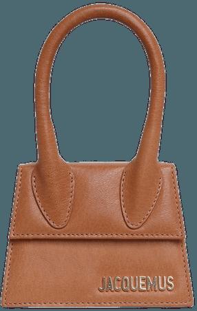 brown jacquemus bag
