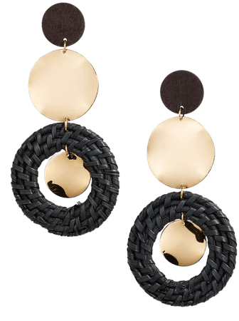 Ettika Raffia Ring Earrings   Nordstrom