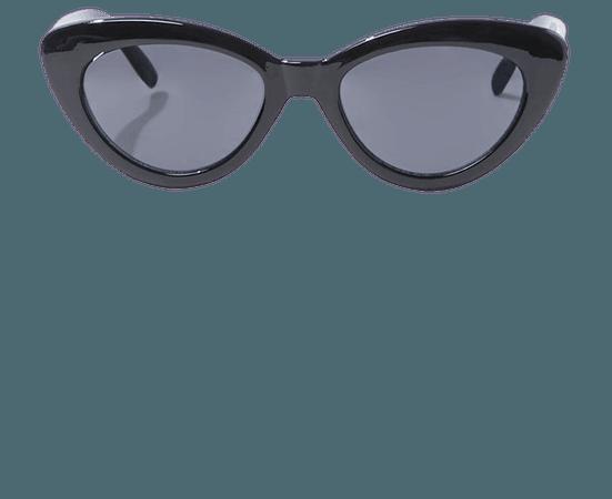 Opaque Cat-Eye Sunglasses | Forever 21