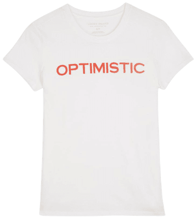 Lucky Brand Optimistic Graphic Tee   Nordstrom