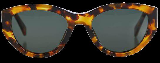 ANINE BING Marin Sunglasses - Tortoise