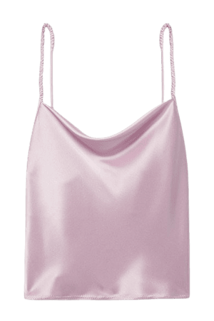 Net Sustain Abby Satin Camisole - Lilac