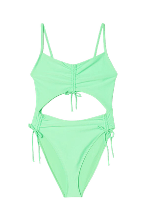 Cut-out Swimsuit - Mint green - Ladies | H&M US