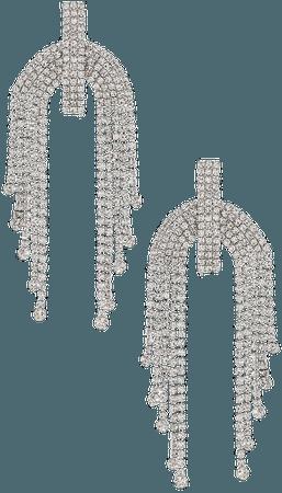 Amber Sceats Embellished Chandelier Earrings in Silver | REVOLVE