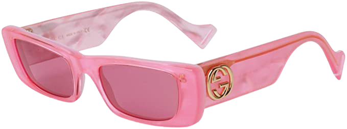 Sunglasses Gucci GG 0516 S- 003 Pink/Red at Amazon Women's Clothing store