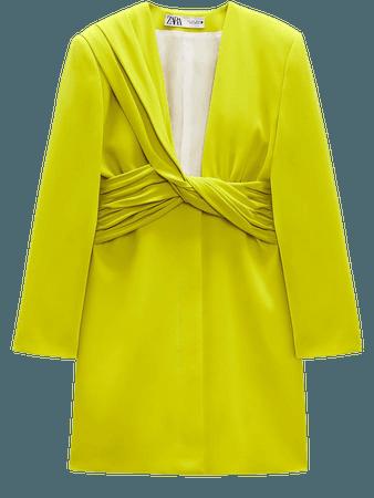 BLAZER DRESS LIMITED EDITION   ZARA United States