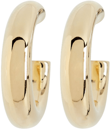 Argento Vivo Open Tube Hoop Earrings | INTERMIX®