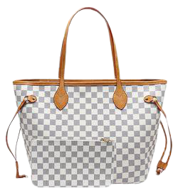 'Grace' Canvas Checked Tote Bag with Pouch (4 Colors) - Goodnight Macaroon