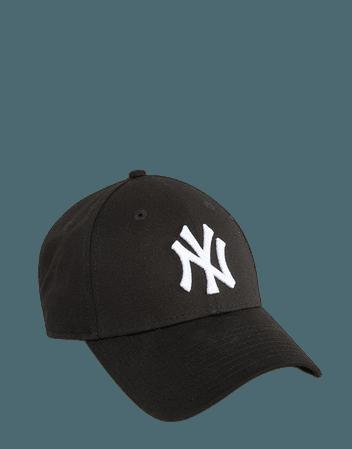 New Era black NY 9forty cap | ASOS