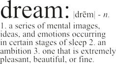 Dream definition text