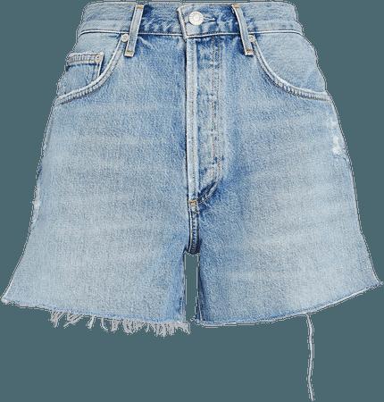 AGOLDE   Dee High-Rise Denim Shorts   INTERMIX®