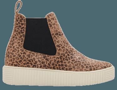 COLA SNEAKERS IN DK LEOPARD SUEDE – Dolce Vita