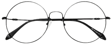 Wire Framed Circle Glasses