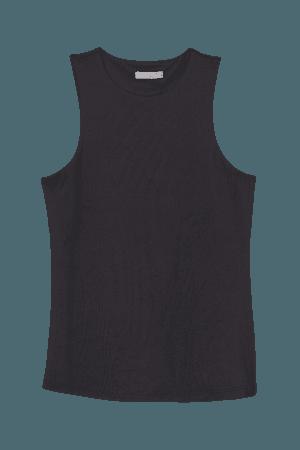 Jersey Tank Top - Black - Ladies | H&M US
