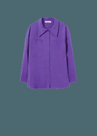 Pockets flowy shirt - Women | Mango USA
