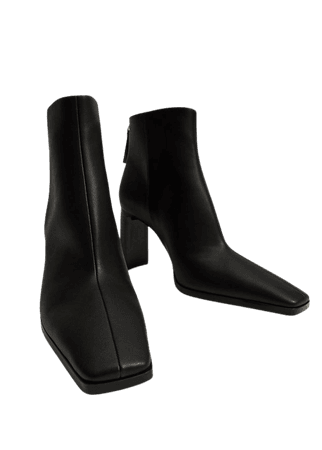 Pointed heel ankle boot - Women | Mango USA