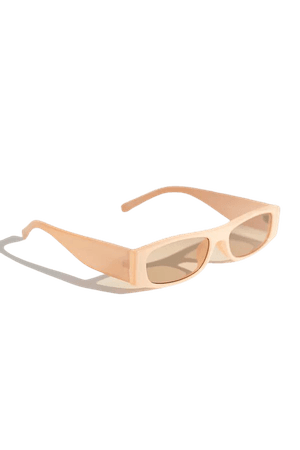 Angie Plastic Rectangle Sunglasses | Urban Outfitters