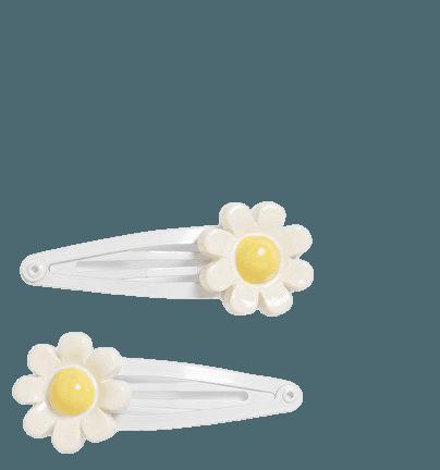Daisy hair clips - Daisies - Hair accessories - Monki WW