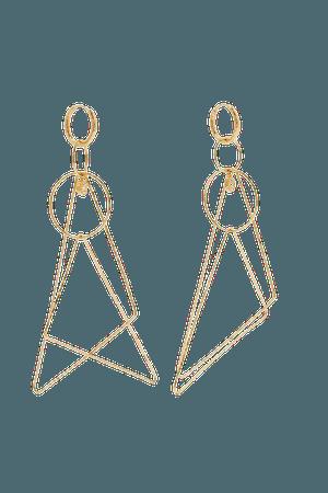 Gold + NET SUSTAIN Whimsy 18-karat gold diamond earrings | Octavia Elizabeth | NET-A-PORTER