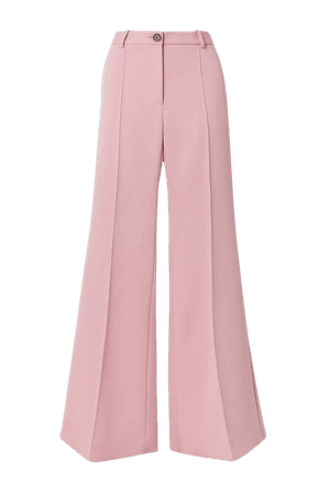 Baby pink Twill flared pants | Peter Do | NET-A-PORTER