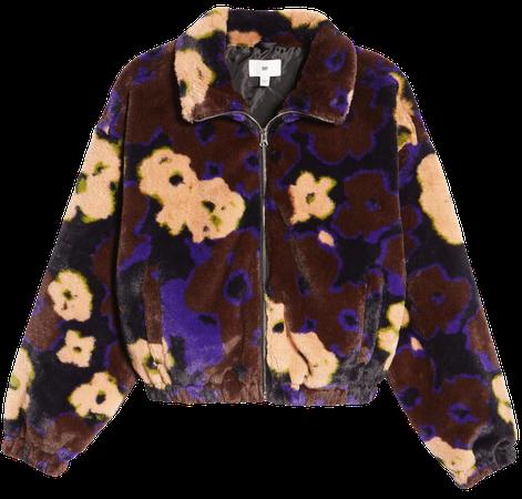 Crop Faux Fur Jacket | Nordstrom