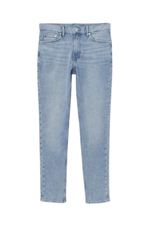 Slim Jeans - Light denim blue - Men | H&M US
