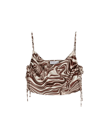Printed top and pants set - New - Woman | Bershka