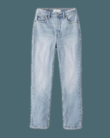 Women's Curve Love High Rise Skinny Jeans | Women's New Arrivals | Abercrombie.com