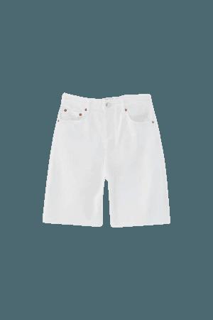Bermuda shorts with raw hems - pull&bear