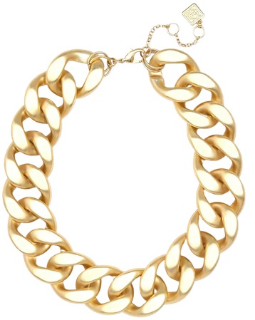 """Zenzii Gold-Tone Resin Link Statement Necklace, 17-1/2"""" + 3"""" extender & Reviews - Bracelets - Jewelry & Watches - Macy's"""