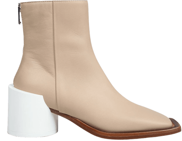 Squared Toe Ankle Boots