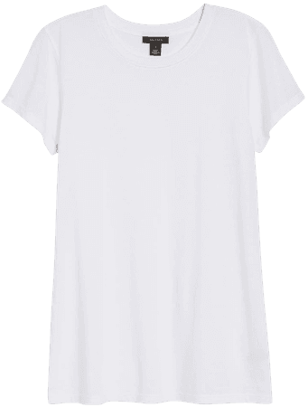 Halogen® Short Sleeve Crewneck Tee (Regular & Petite) | Nordstrom