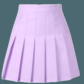 Youvimi Lavender Pleated Tennis/School Skirt YV5025