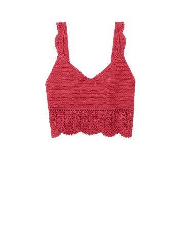 AE Crochet Tank Top