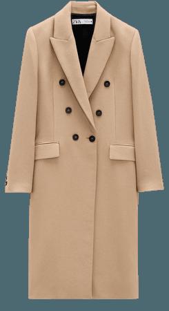 DOUBLE-BREASTED COAT | ZARA United States