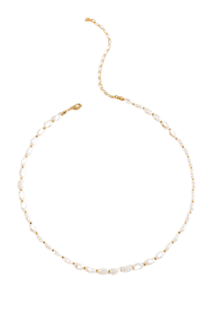 Martha Pearl Strand Necklace | francesca's