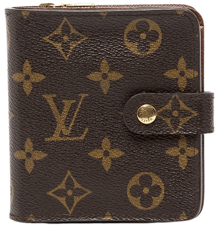 Louis Vuitton 2003 pre-owned Monogram Compact Wallet - Farfetch