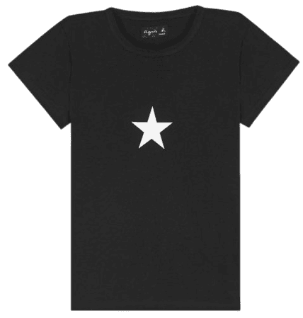 black short sleeves Brando star t-shirt
