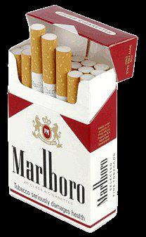 Marlboro Red - red 'n white