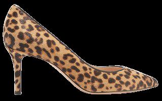 70 Leopard-print Calf Hair Pumps - Leopard print