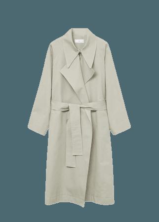 Oversize water-repellent trench coat - Women | Mango USA