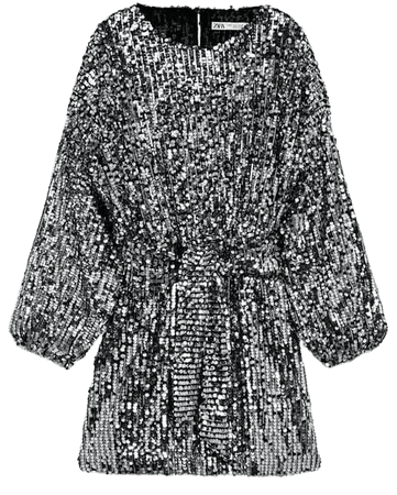 SEQUIN MINI DRESS | ZARA United States