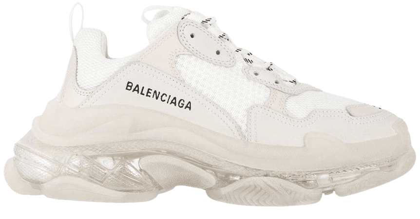 Balenciaga Triple S Clear Sole Sneakers - Farfetch