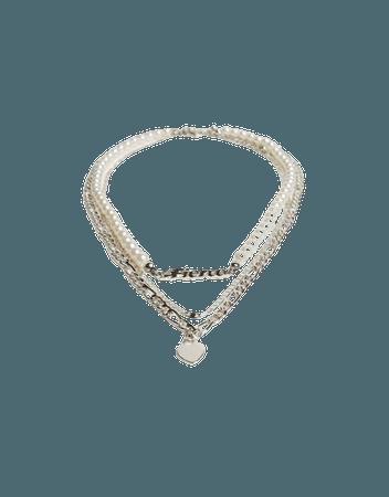 Set of 3 heart necklaces - Accessories - Woman | Bershka