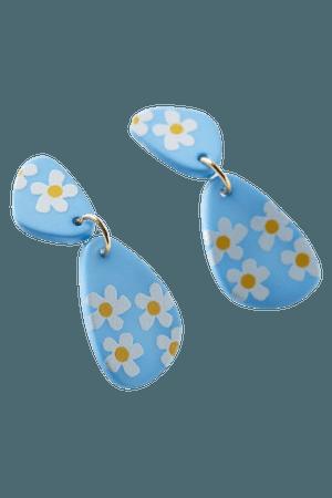 Pamela Flower Drop Earring | Urban Outfitters