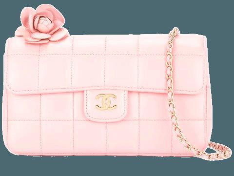 Chanel Vintage Choco Bar Camelia CC Single Chain Shoulder Bag - Farfetch
