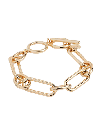 Interlocking Paperclip Toggle Bracelet | Express