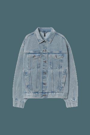 Denim Jacket - Light blue - Ladies   H&M US