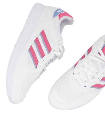adidas Originals Special 21 sneakers in white and pink | ASOS
